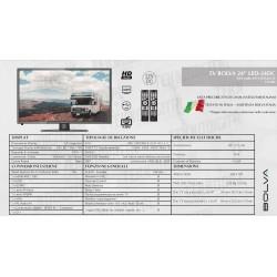TV BOLVA 24'' - LED-24DC
