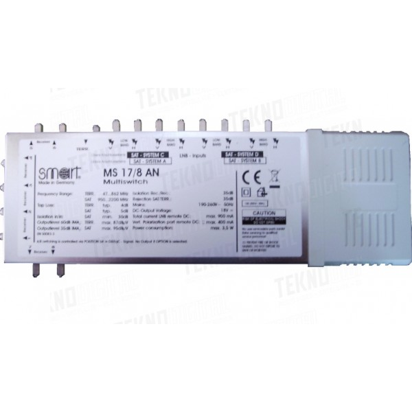CENTRALE MULTISWITCH SMART...